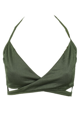 SUTIEN NEW LOOK NASTASIA DARK GREEN