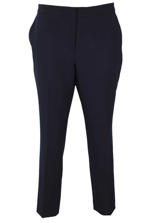 Pantaloni de stofa ZARA Alice Dark Blue