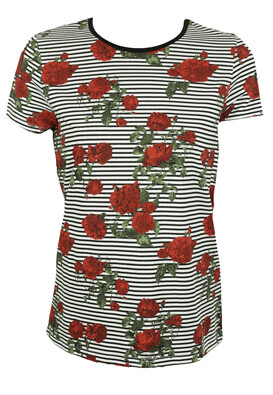 TRICOU NOISY MAY WENDY WHITE