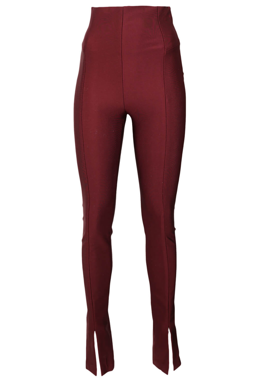 Pantaloni ZARA Vanessa Dark Red