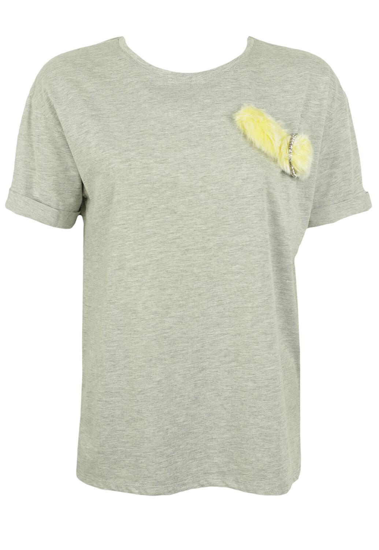 Tricou ZARA Elle Grey