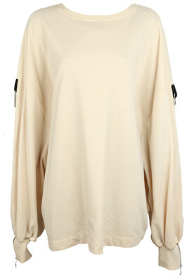 BLUZA ZARA LYDIA LIGHT BEIGE