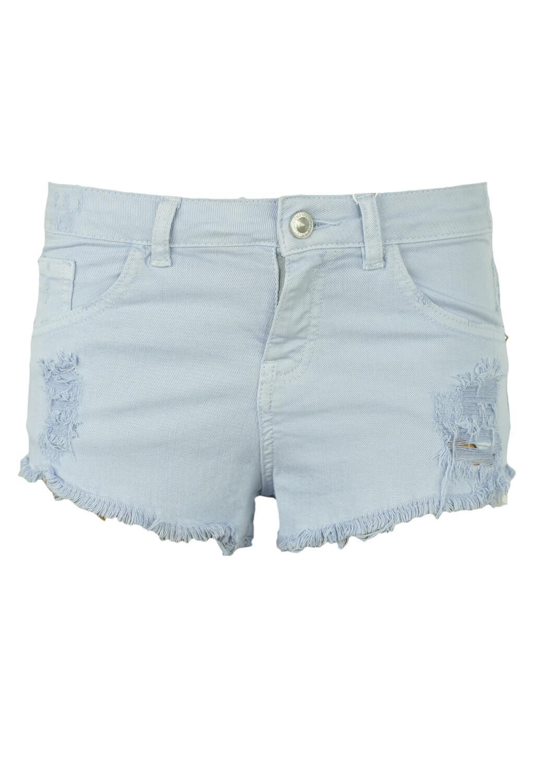 Pantaloni scurti Bershka Shelley Light Blue
