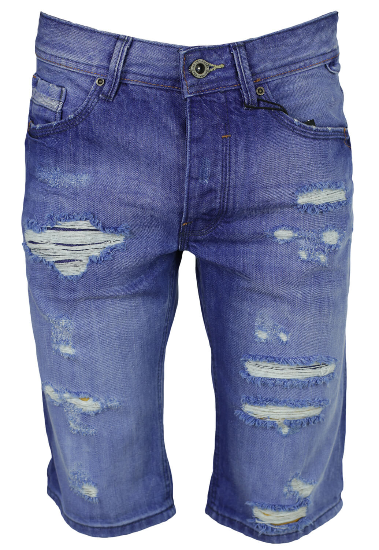 Pantaloni scurti Bershka Liam Blue