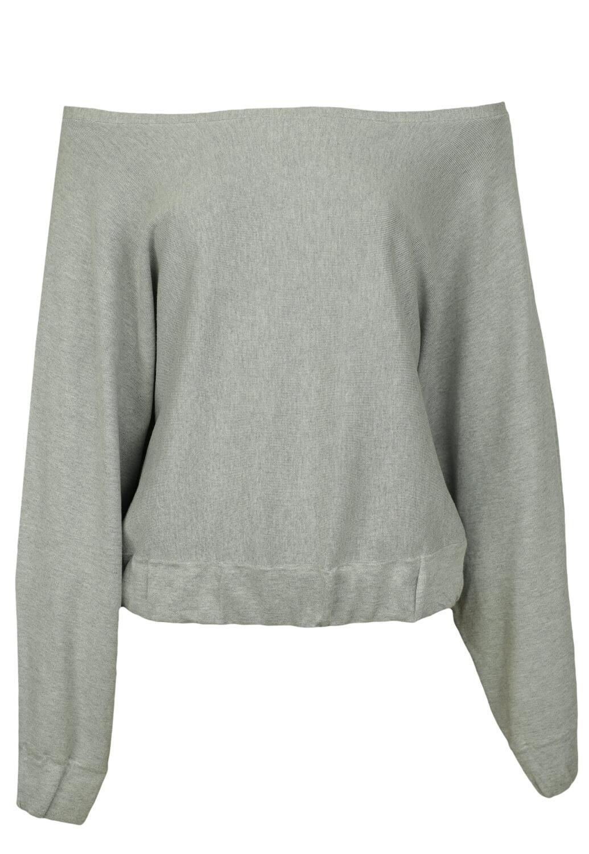 Pulover ZARA Basic Grey