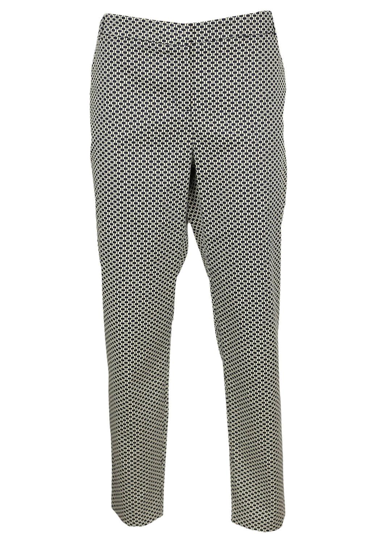 Pantaloni Orsay Della Black and White