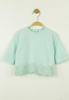 BLUZA ZARA FIONA LIGHT GREEN