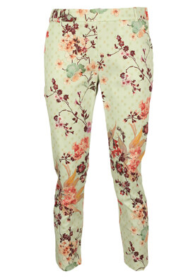 PANTALONI ORSAY LARA LIGHT GREEN