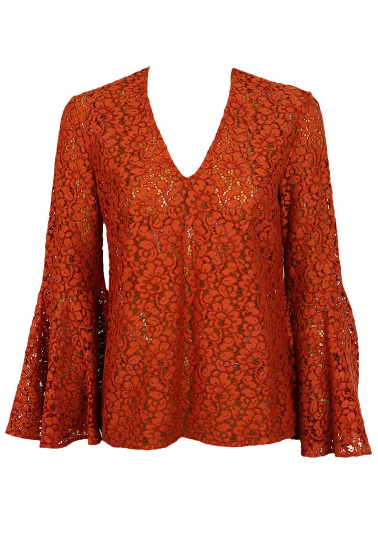 Bluza ZARA Roxanne Dark Orange