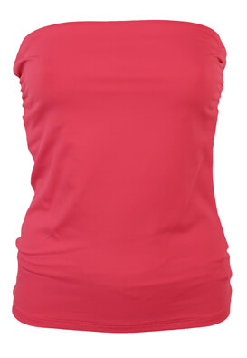 TOP BERSHKA JOYCE DARK PINK