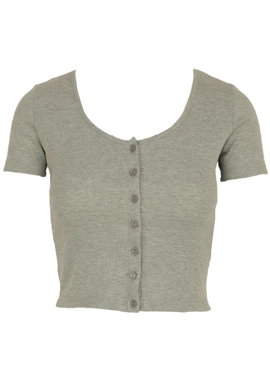 Tricou Glamorous Elle Grey