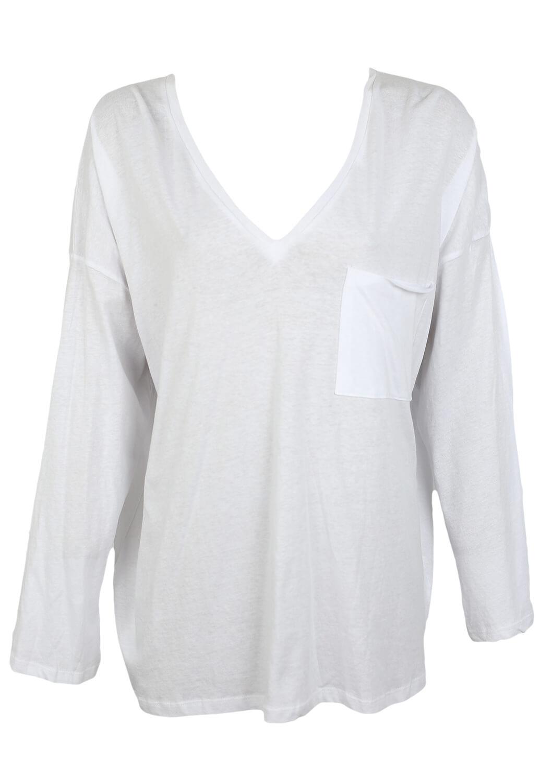 Tricou ZARA Mireille White