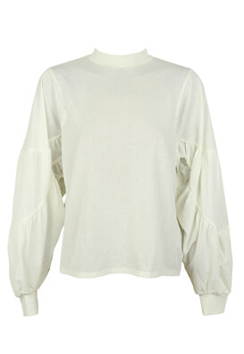 BLUZA ZARA SHINE WHITE