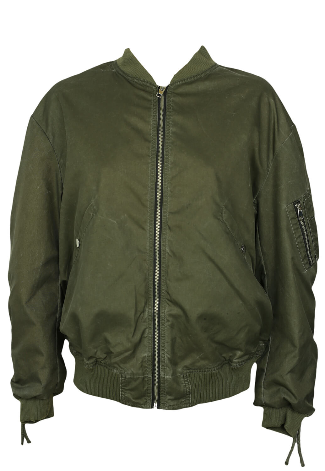 Jacheta ZARA Army Dark Green