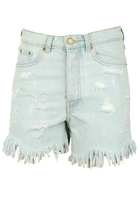 PANTALONI SCURTI ZARA ERIN LIGHT BLUE