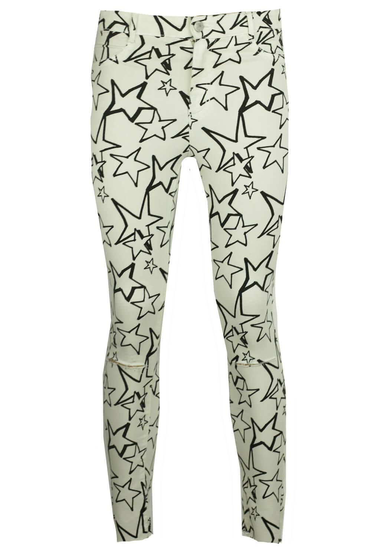Pantaloni ZARA Glam White
