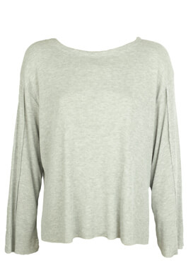 BLUZA PULL AND BEAR KIMBERLY GREY