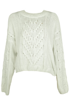 PULOVER PULL AND BEAR JANINE WHITE