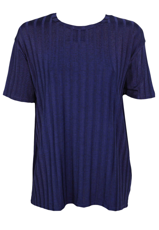 Tricou ZARA Fiona Dark Blue