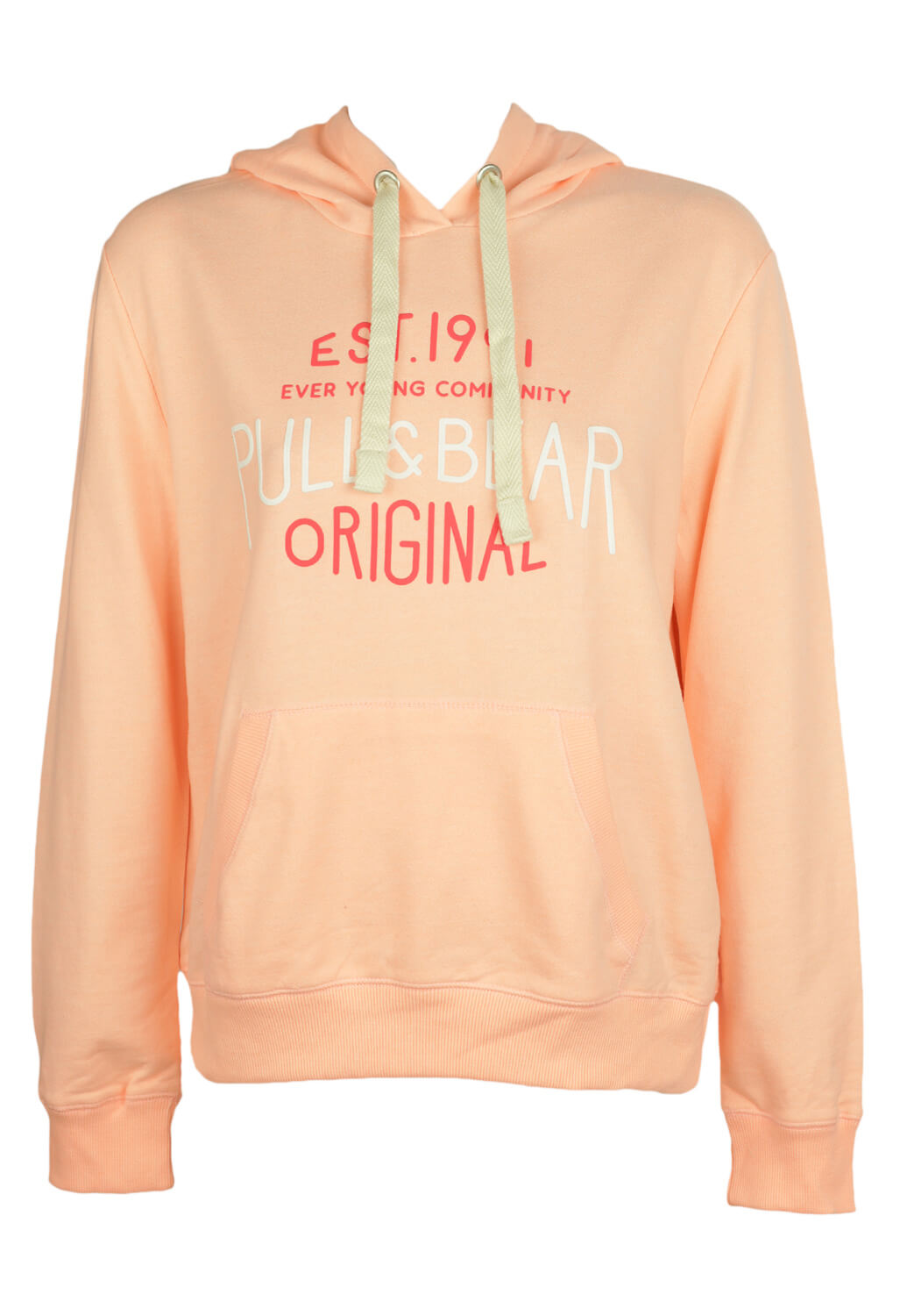 Hanorac Pull and Bear Vanessa Light Orange