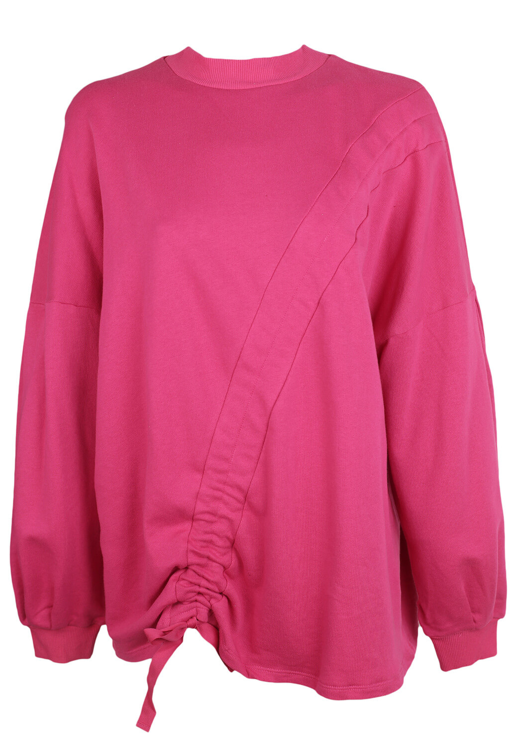 Bluza Pull and Bear Gloria Dark Pink