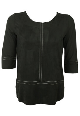 BLUZA ZARA BASIC BLACK