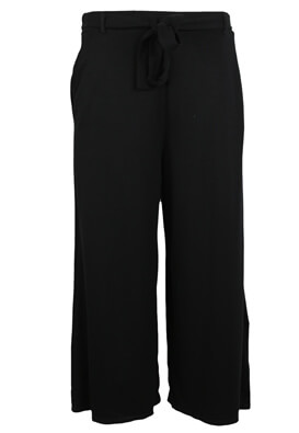 PANTALONI PULL AND BEAR TARA BLACK
