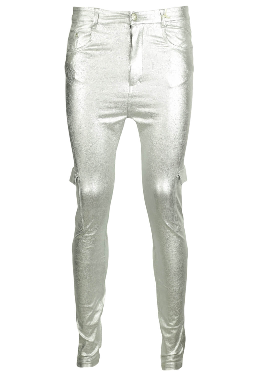 Pantaloni Pull and Bear Xenia Silver
