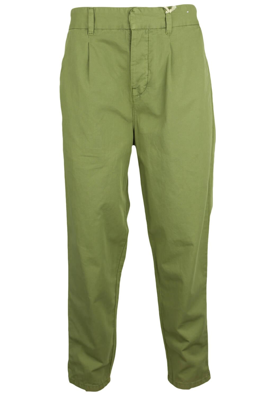Pantaloni Pull and Bear Georgia Dark Green