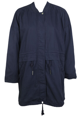 JACHETA PULL AND BEAR ELLE DARK BLUE