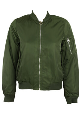 JACHETA PULL AND BEAR SABRINA DARK GREEN