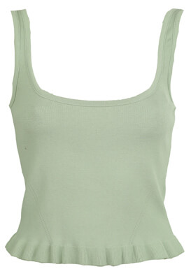 TOP ZARA AYA LIGHT GREEN