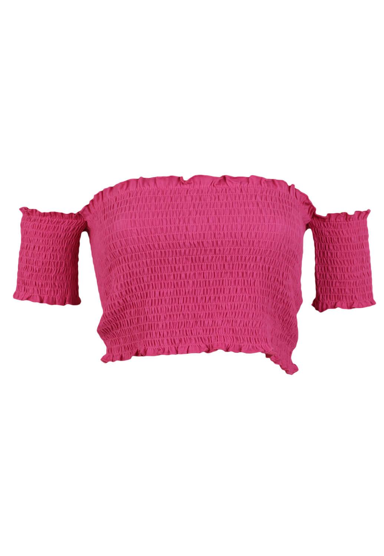 Tricou ZARA Alice Dark Pink