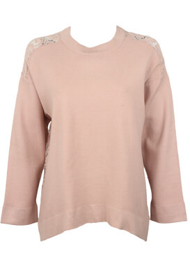 BLUZA ZARA LARA LIGHT PINK