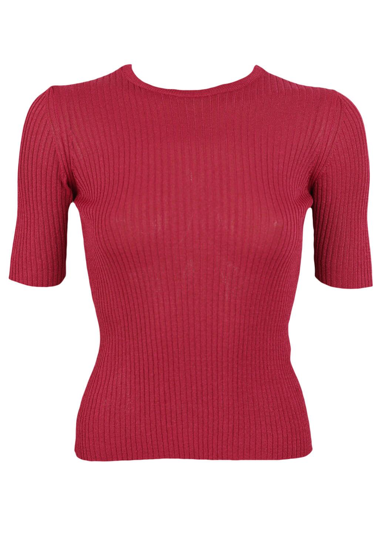 Tricou Zara Georgia Dark Pink