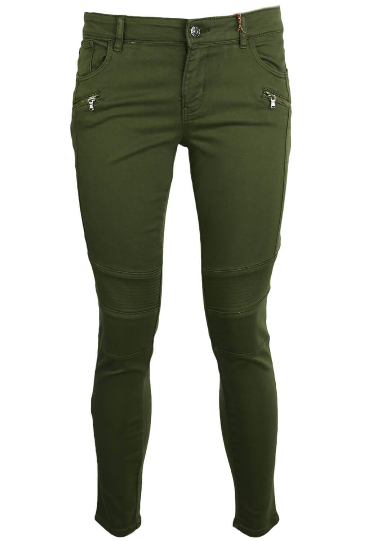Pantaloni ZARA Gina Dark Green