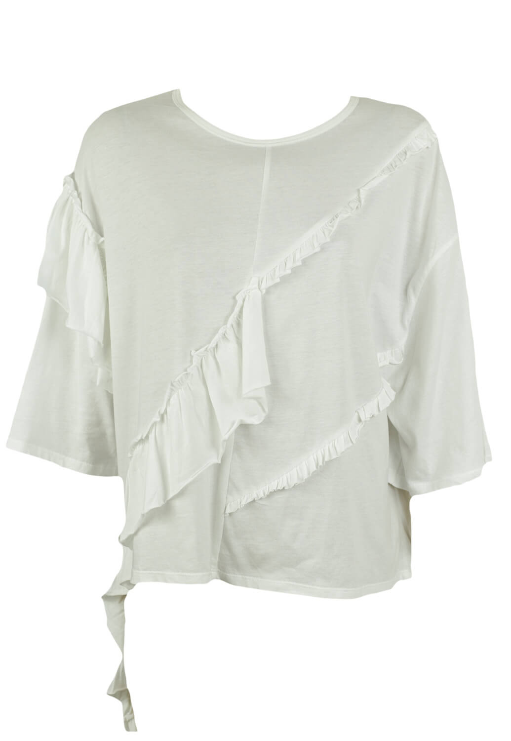 Tricou Zara Fancy White