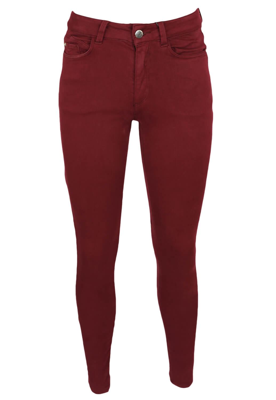 Pantaloni ZARA Dasia Dark Red