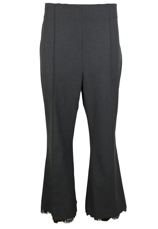 Pantaloni de stofa ZARA Georgia Dark Grey
