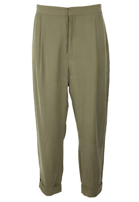 PANTALONI ZARA JANE DARK GREEN