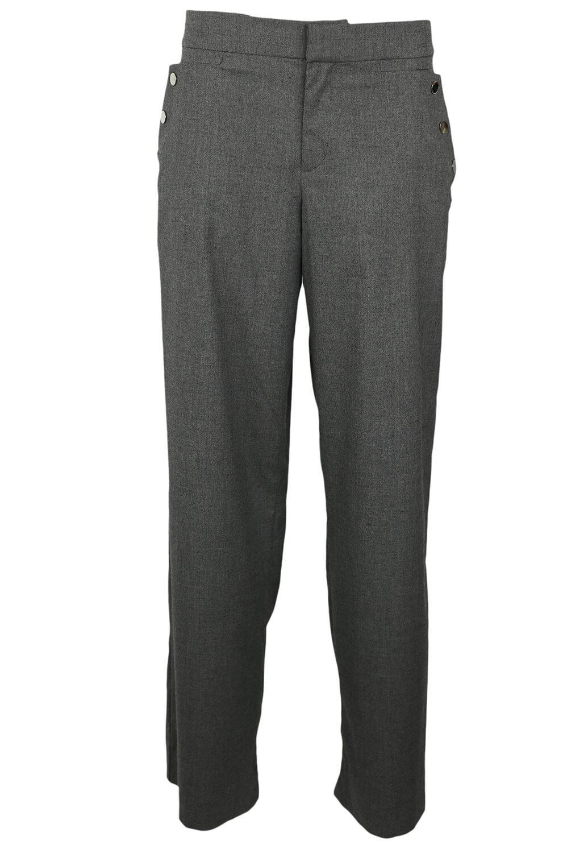 Pantaloni de stofa ZARA Olivia Grey