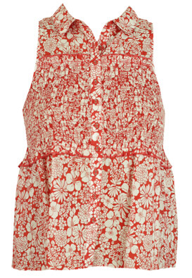 CAMASA LB EXPRESSIONS FLOWERS RED
