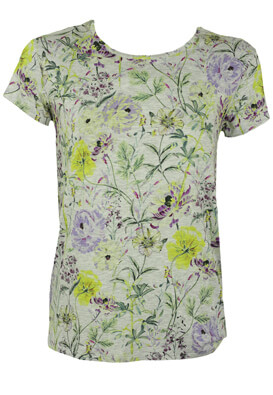 TRICOU PROMOD FLOWERS GREY