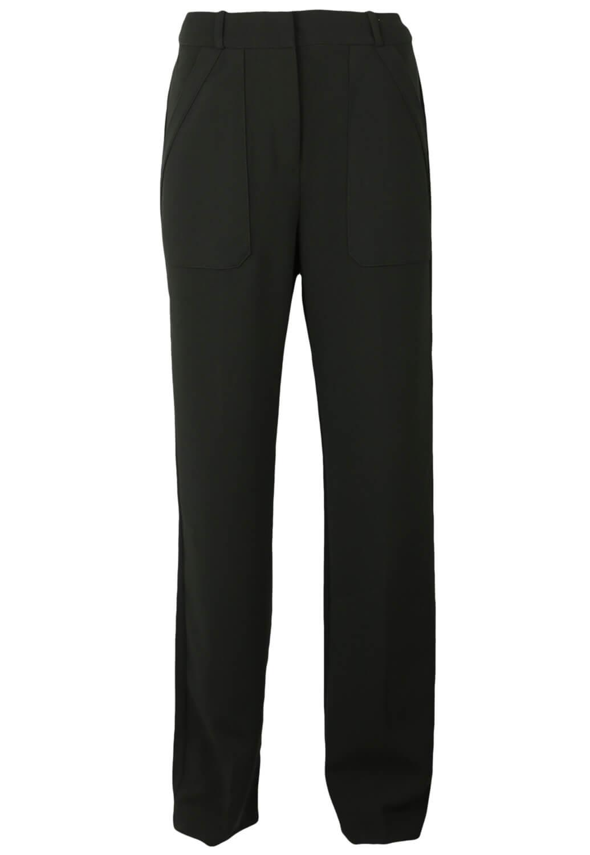 Pantaloni de stofa Mango Jill Black