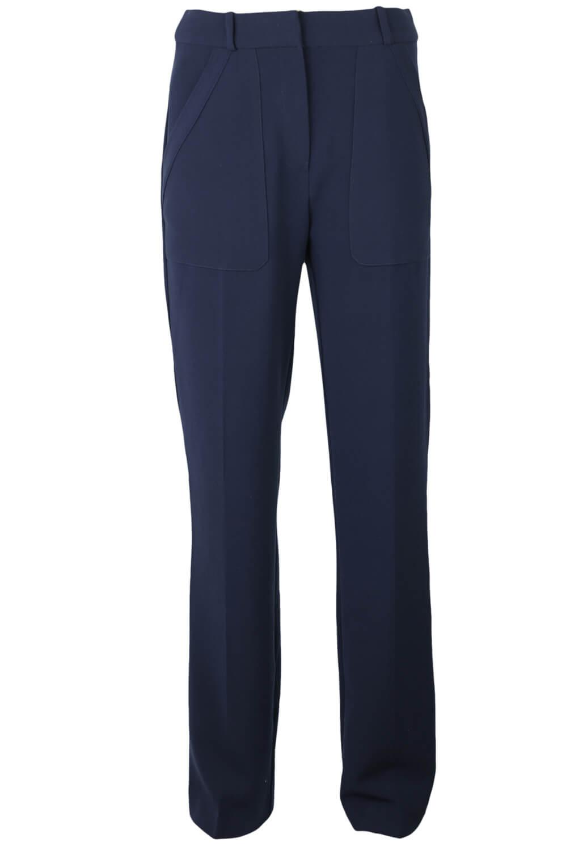 Pantaloni De Stofa Mango Carrie Dark Blue