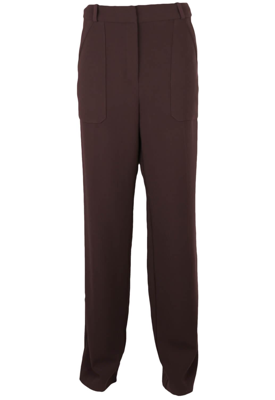Pantaloni de stofa Mango Hanna Dark Purple