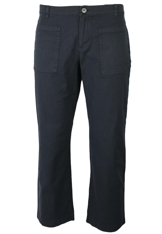 Pantaloni Mango Cassie Dark Blue