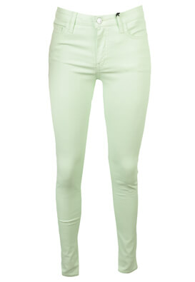 PANTALONI MANGO NASTASIA LIGHT GREEN