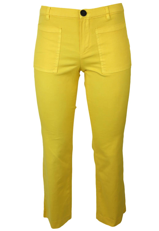 Pantaloni Mango Juliette Yellow