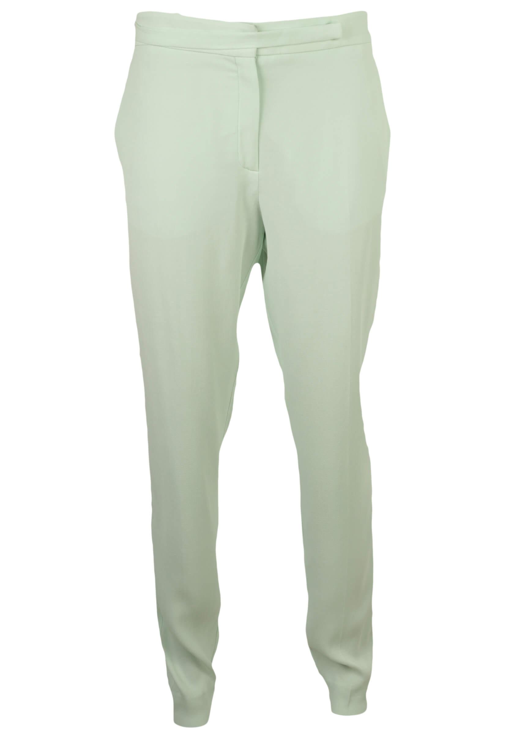 Pantaloni Mango Gina Light Green